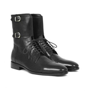 Dress Formal Double Monk Leather